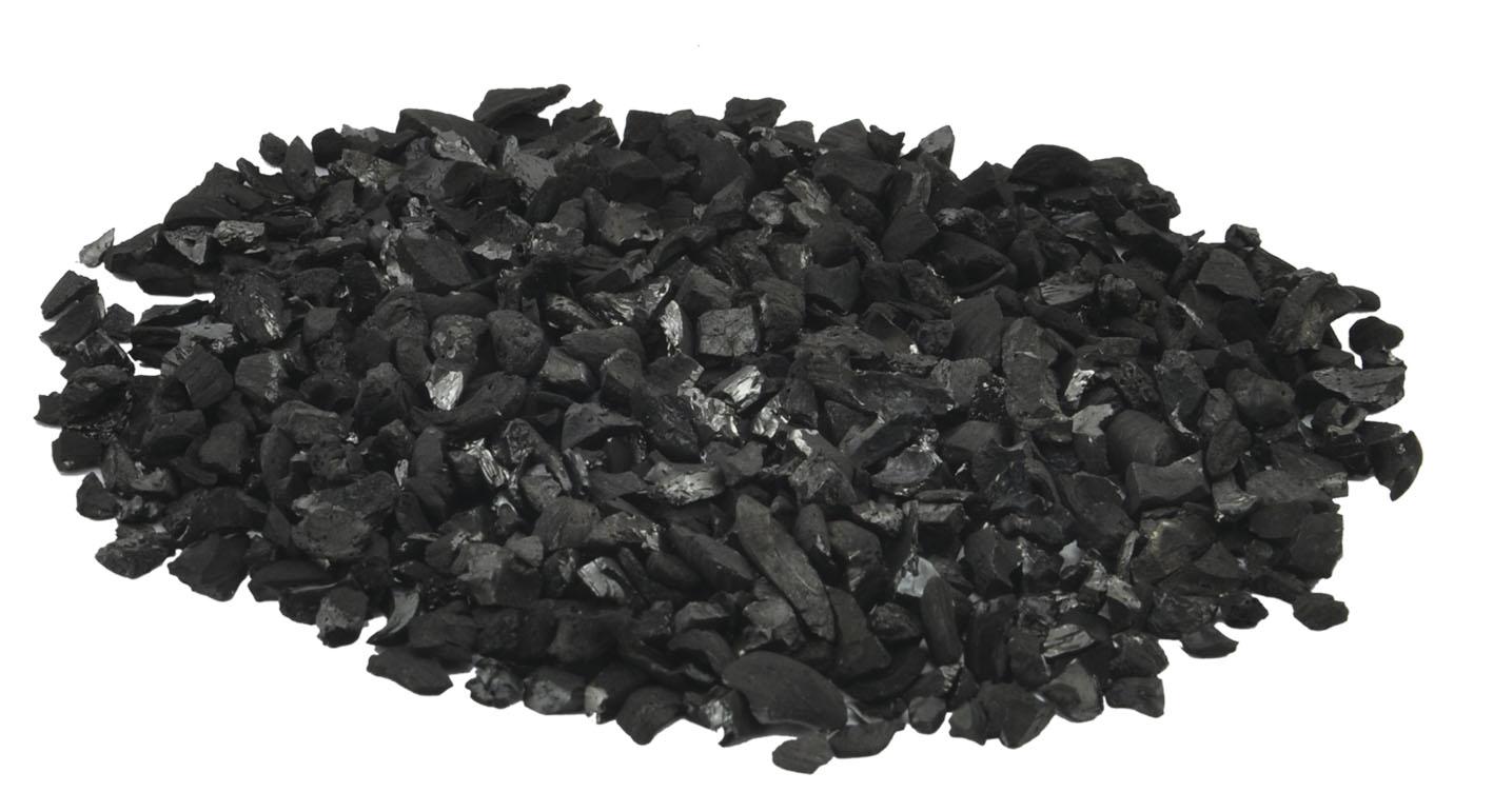 活性炭的外观