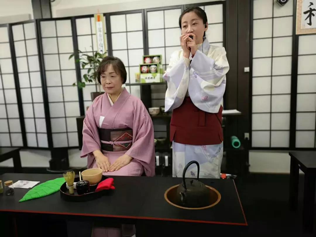 体验日本抹茶