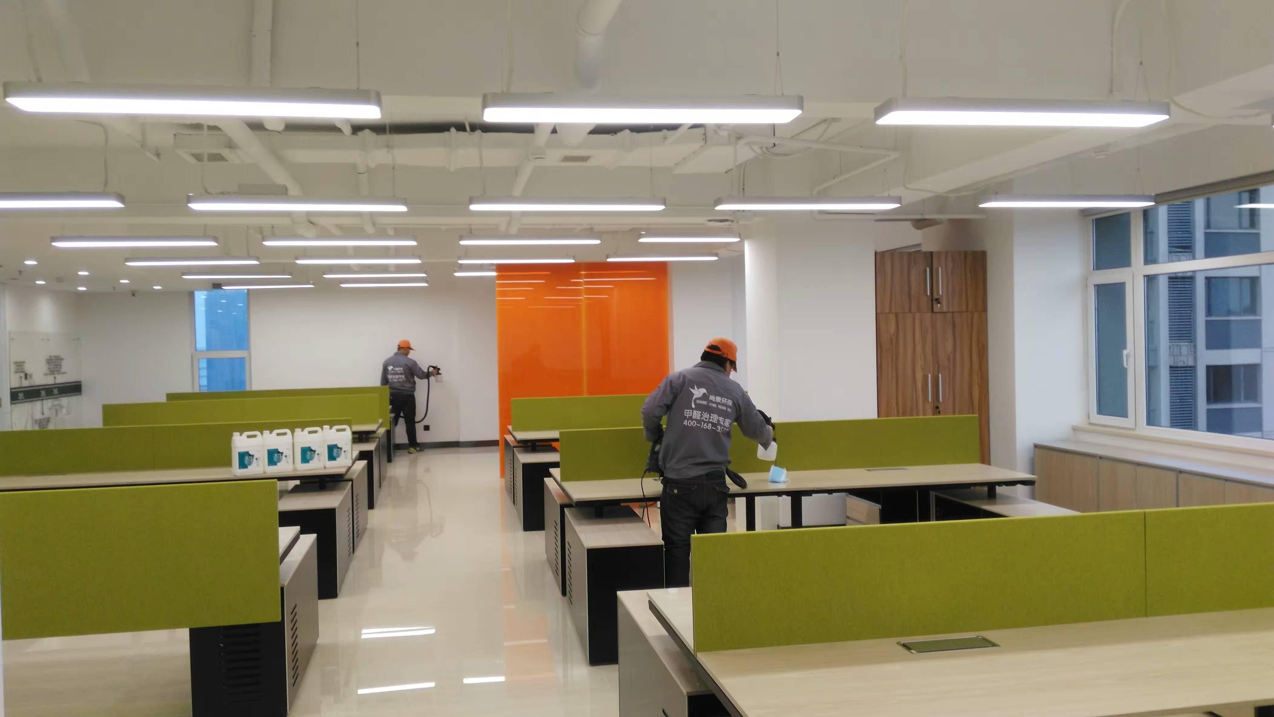 首创置业地产办公桌施工