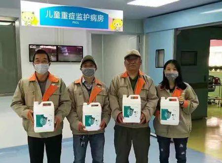 深圳南山第六人民医院荃芬除甲醛施工案例