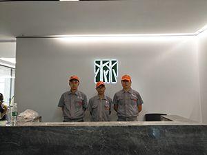 陕西林城环境工程有限公司荃芬除甲醛施工案例