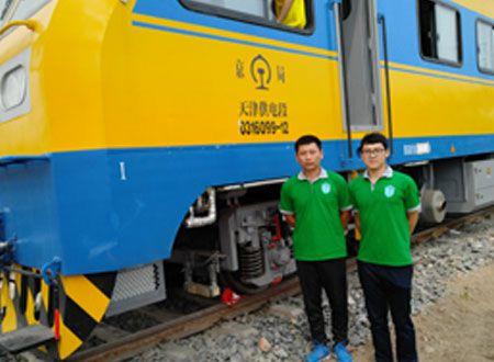 中国中车集团JJC检修列车-天津站除甲醛施工案例