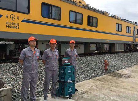 中国中车集团JJC检修列车-重庆站除甲醛施工案例