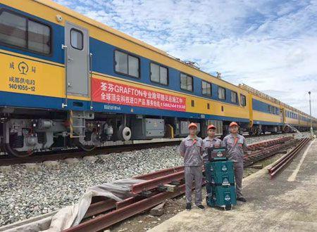 中国中车集团JJC检修列车-成都站除甲醛施工案例