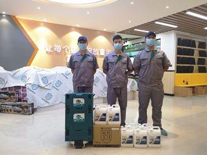 郑州程攻教育科技集团培训机构除甲醛施工案例