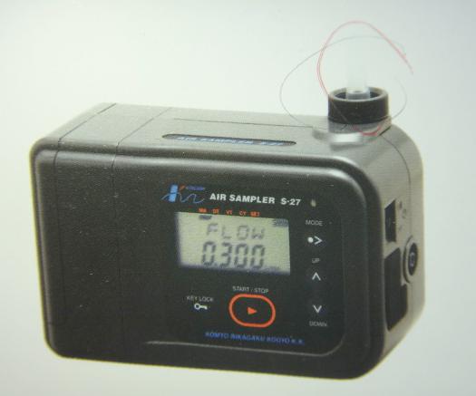 日本进口光明理化S-27空气取样器