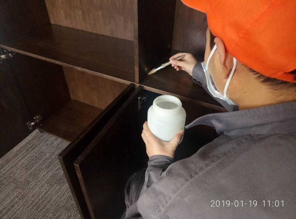 沣东新城陕西室佰美基因股份有限公司荃芬除甲醛施工案例