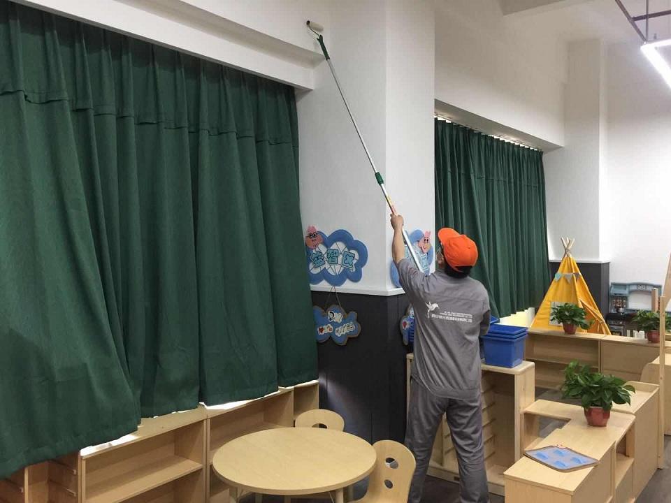 金河湾智慧堡幼儿园除甲醛施工案例