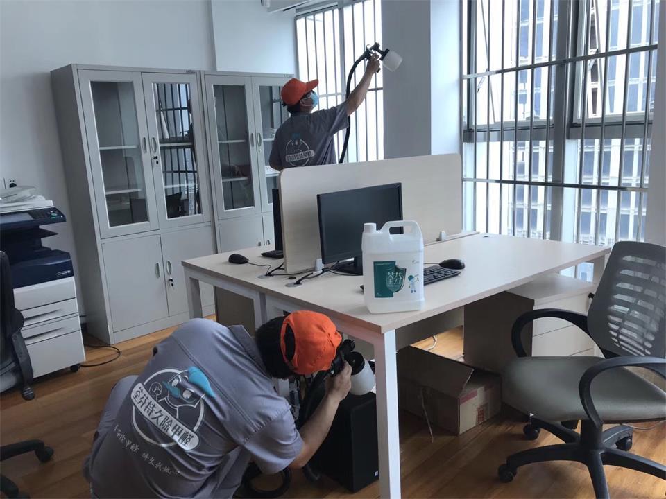 办公区桌椅全方位喷涂施工治理