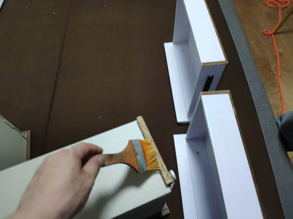 柜子抽屉刷子精细化治理施工