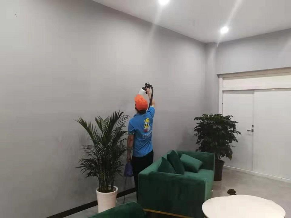 办公室墙面甲醛治理喷涂施工